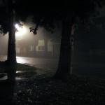 Raro ver tanta neblina a media noche