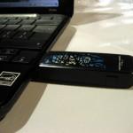 Probando el modem 3G/HSDPA+ en la Campust Party MX