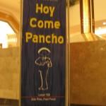 Hoy come pancho