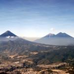 Volcán de Fuego, Acatenango y de Agua