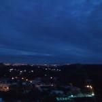 Viendo el amanecer