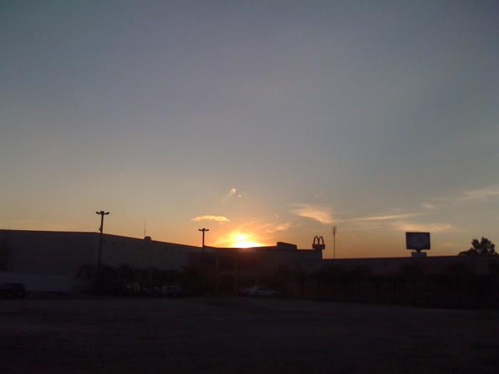 atardecer en ciudad guatemala