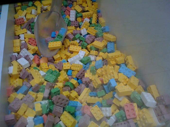 Dulces con forma de Lego