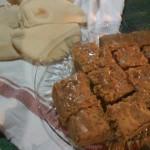 Pan pita y pan de zanahoria