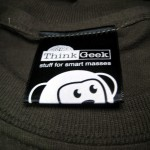 Recibiendo mi pedido de Think Geek