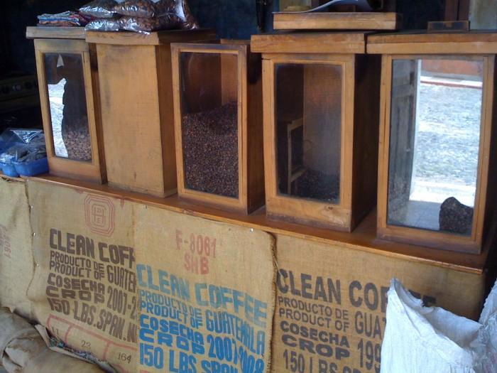 café antigüeño en grano