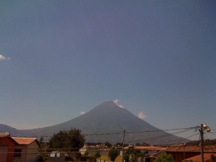 cielo despejado en guatemala