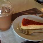 Moka y cheesecake