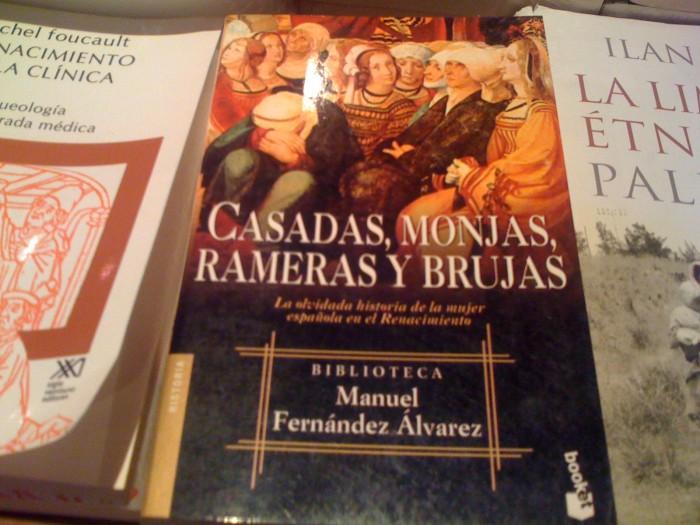 Libro: Casadas, monjas, rameras y brujas