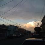 Frente de nubes