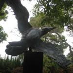 Escultura de una ave