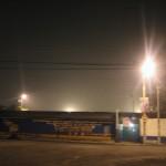 Lluvia con arena en Guatemala