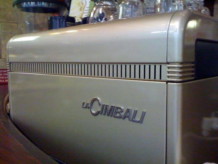 La Cimbali, maquina para café espresso