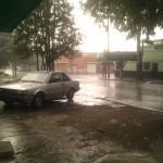 Justo empezó a llover cuando tenía que salir -_-