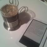 Preparando café mientras avanzo con la lectura