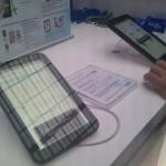 Exhibición de la Galaxy Tab