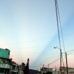 Franjas en el cielo