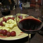 Quesos y vinos