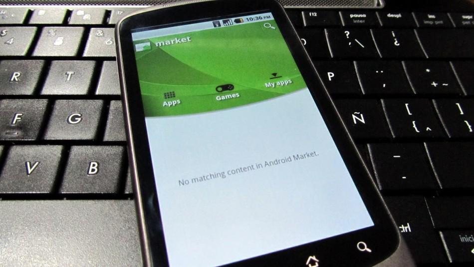 Market 2.2.7 en el Nexus One