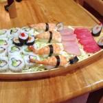 Barquito de sushi