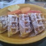 Wafles para el desayuno
