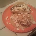 Probando verdaderos tacos mexicanos