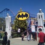 Entrada a Batman The Ride