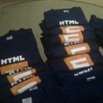 Playeras de HTML5