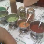 Salsas para sus tacos