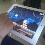 Angry Birds en el iPad 2