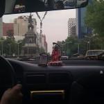 """El taxista llevaba una particular """"protección"""""""