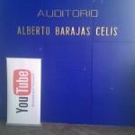 Llegando al evento YouTube en la UNAM
