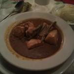 Cenando Pepián de pollo