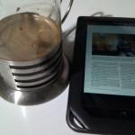 Café y una buena revista es todo lo que pido por hoy