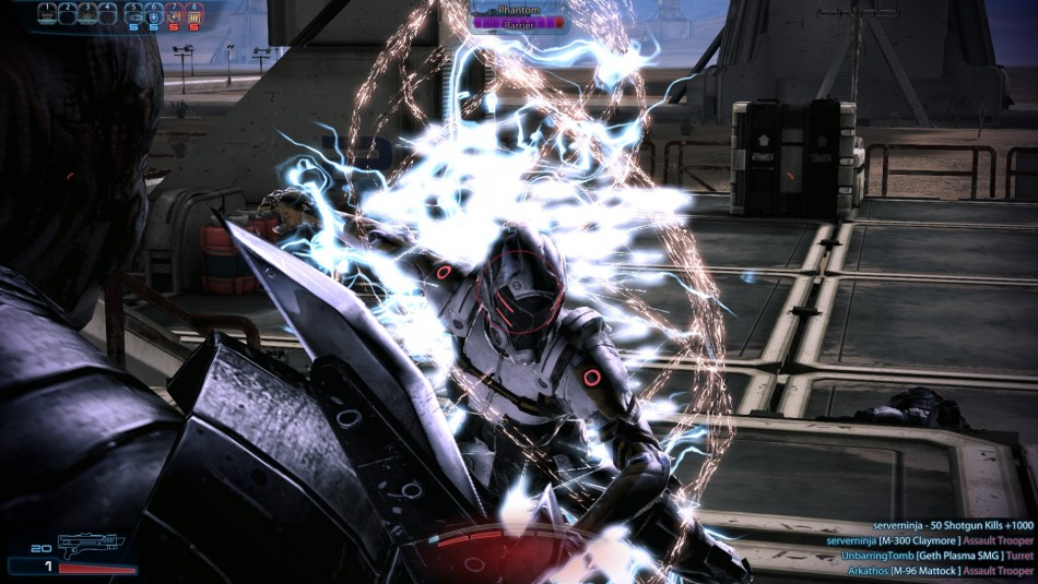 Mass Effect 3: Submission net