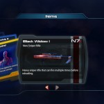 Mass Effec 3: Black Widow card for Multiplayer