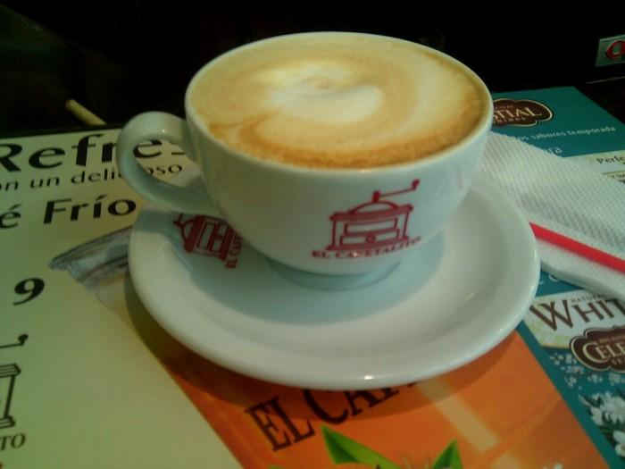 No soy fan de tomar café caliente con este clima pero esta taza está muy buena
