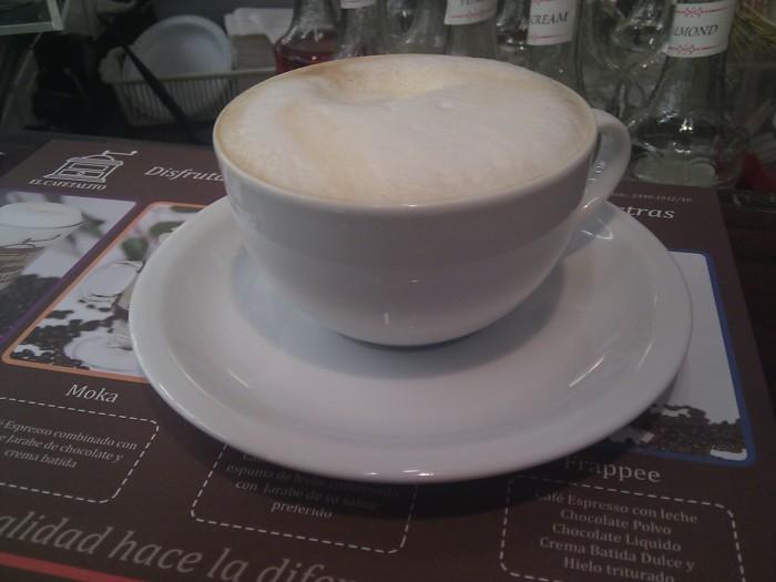 Cappuccino @ El Cafetalito