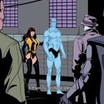 Me gusto que los cortos (cutscenes) del juego de Watchmen son en cómic