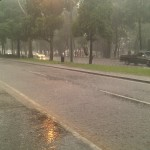 Bonita forma de llover :x