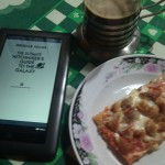 Pizza, ebook y café