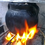 Cocinando a la antigua