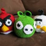 Los angry birds que compré en Panajachel