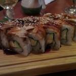 Eel rolls