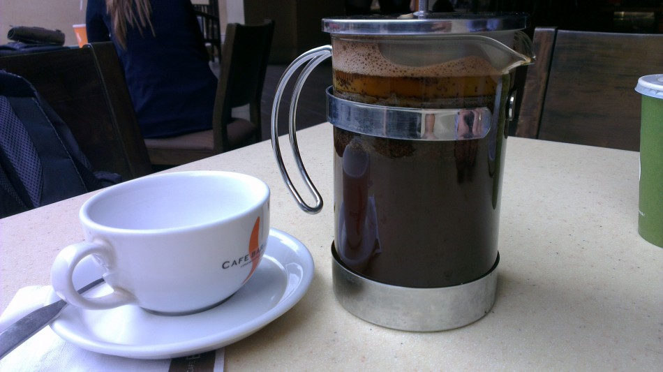French Press time