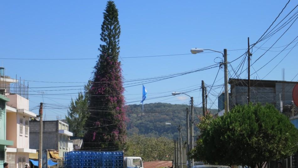 La bandera más grande de Guatemala