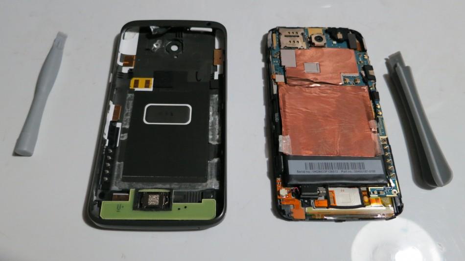 Las tripas del HTC One X