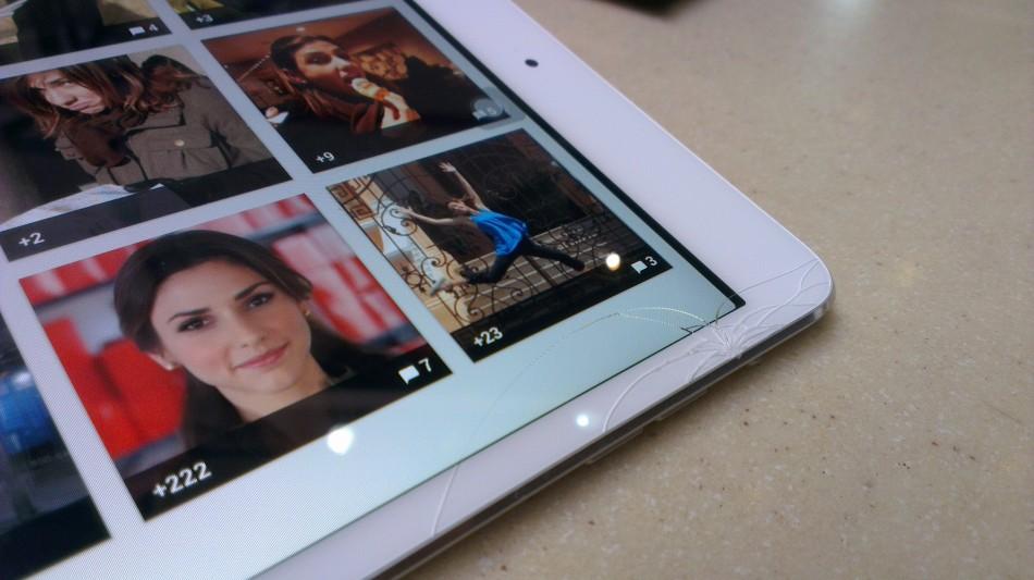 @neavilag's cracked iPad Mini
