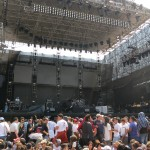 Close enough to the stage of Tigo Fest