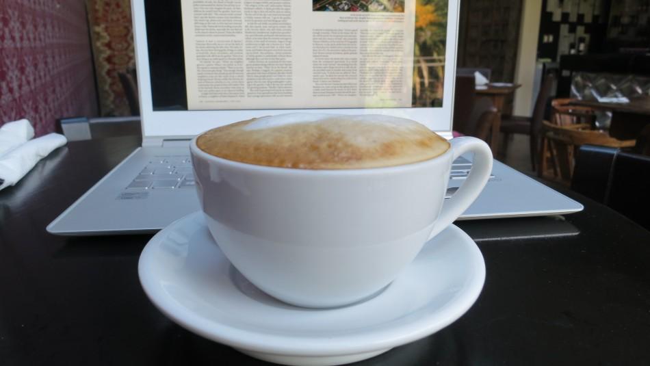 El cappuccino de la tarde
